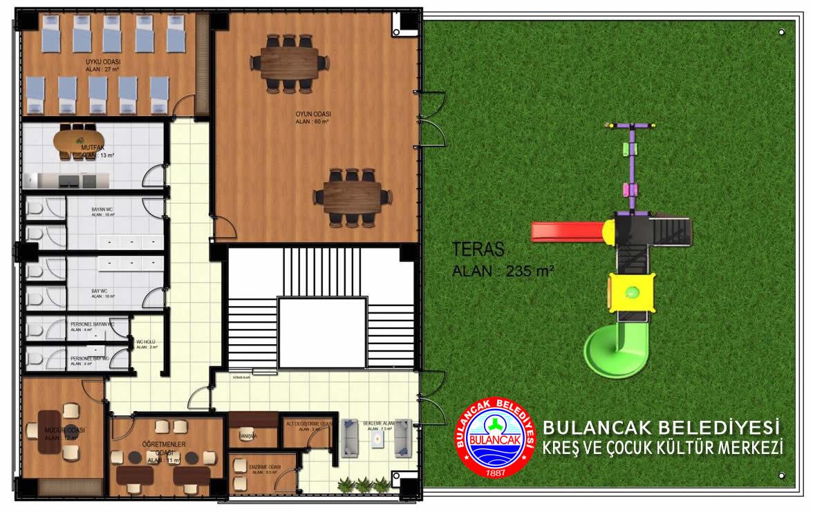 Belediyeden Kreş ve Çocuk Kültür Merkezi Projesi