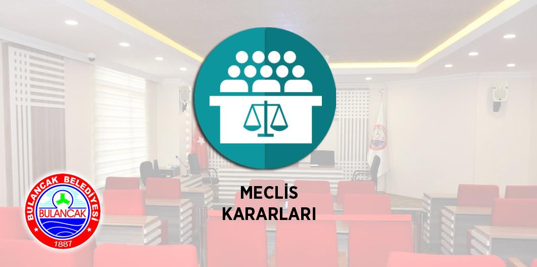 2019 Mart ayı Meclis Kararları