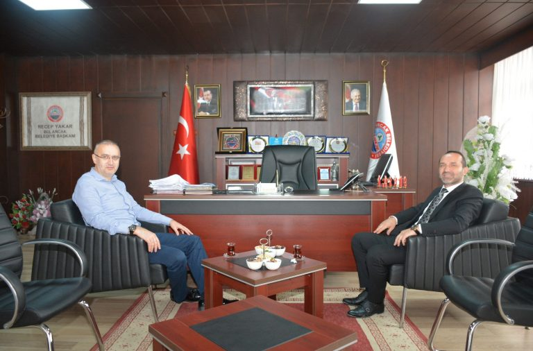 Ünye Belediye Başkanı Çamyar'dan Başkan Yakar'a Ziyaret