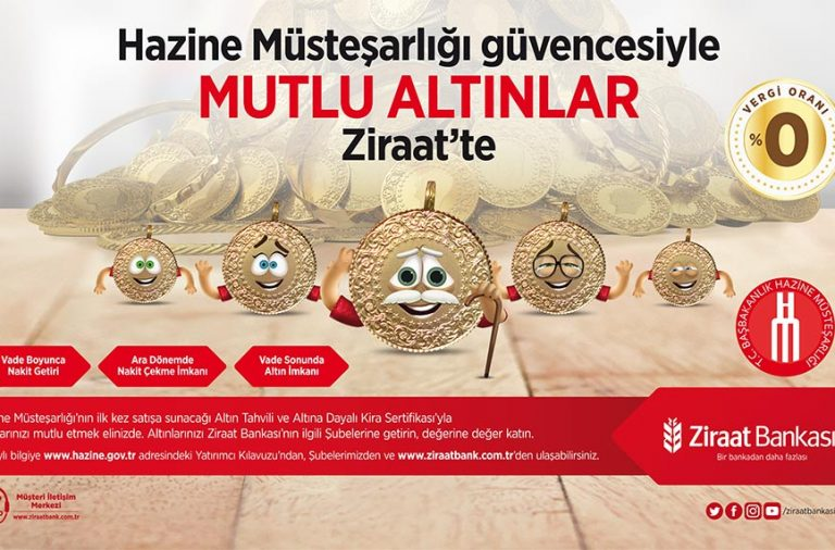 Ziraat Bankası 2018 yılı Altın-Avro Tahvil Duyurusu